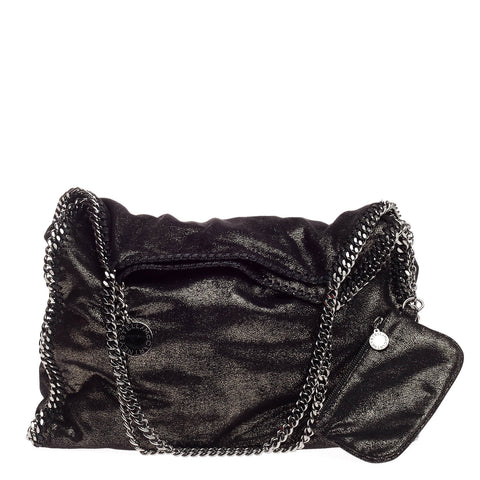 c036b4d139 Buy Stella McCartney Falabella Tote Shaggy Deer Large Black 795801 – Rebag