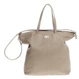 Salvatore Ferragamo Aika Tote Leather Large