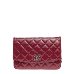 Chanel Brilliant Wallet on Chain Quilted Patent