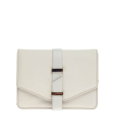 Victoria Beckham Chain Flap Crossbody Leather Mini