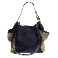 Jimmy Choo Anna Tote Studded Leather