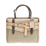Reed Krakoff Boxer Tote Leather and Canvas Medium