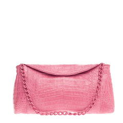 Nancy Gonzalez Convertible Chain Clutch Crocodile Medium