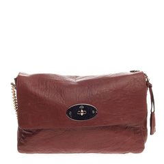 Mulberry Lily Chain Flap Leather Large