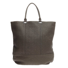 Bottega Veneta 73 Shopping Tote Intrecciato Nappa Large
