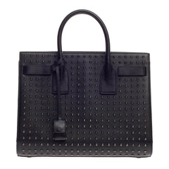 Saint Laurent Sac De Jour Studded Leather Small