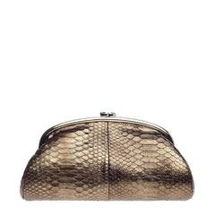 Chanel Timeless Clutch Python