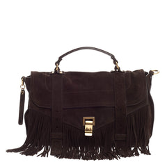 Proenza Schouler PS1 Fringe Runner Suede Medium
