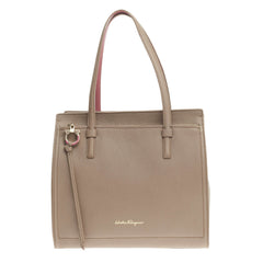 Salvatore Ferragamo Amy Tote Pebbled Leather Medium