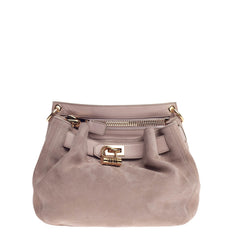 Tom Ford Natasha Satchel Suede Medium