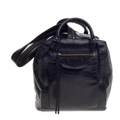 Balenciaga Classic Zip Traveler Backpack Leather