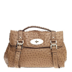Mulberry Alexa Satchel Ostrich Medium