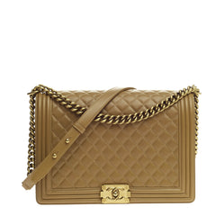 Chanel Boy Flap Quilted Lambskin Large