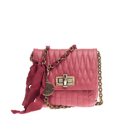 Lanvin Pop Crossbody Quilted Leather Mini
