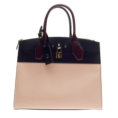 Louis Vuitton City Steamer Leather MM