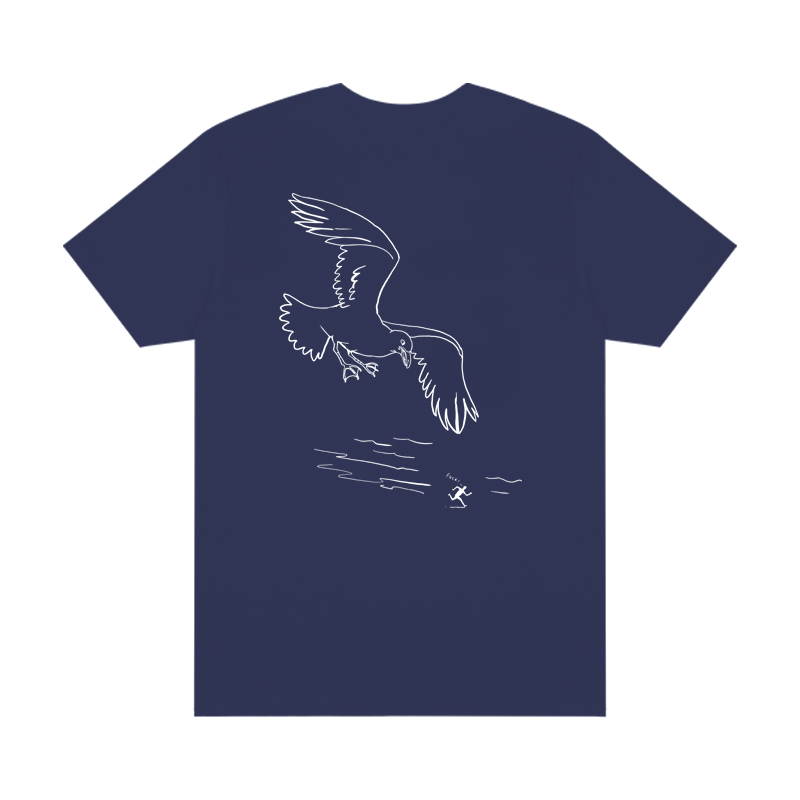 Montauk Bar Logo Tee - Navy - Shop Off Menu