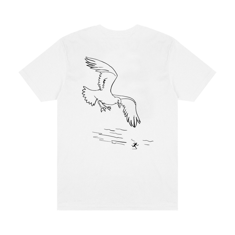 Montauk Bar Logo Tee - White - Shop Off Menu