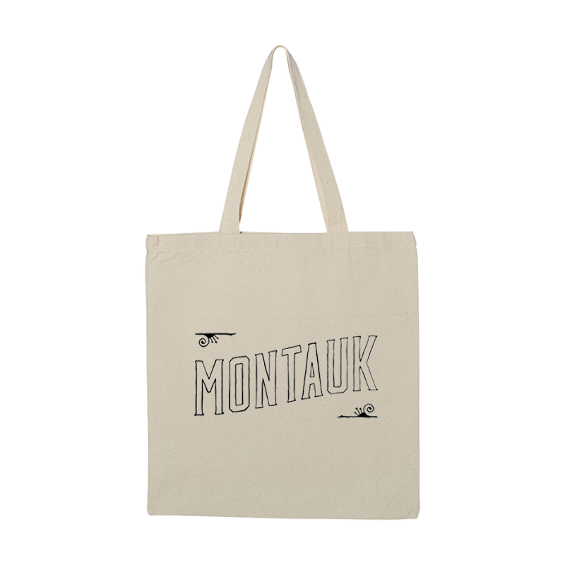 Montauk Bar Logo Tote Bag - Natural - Shop Off Menu