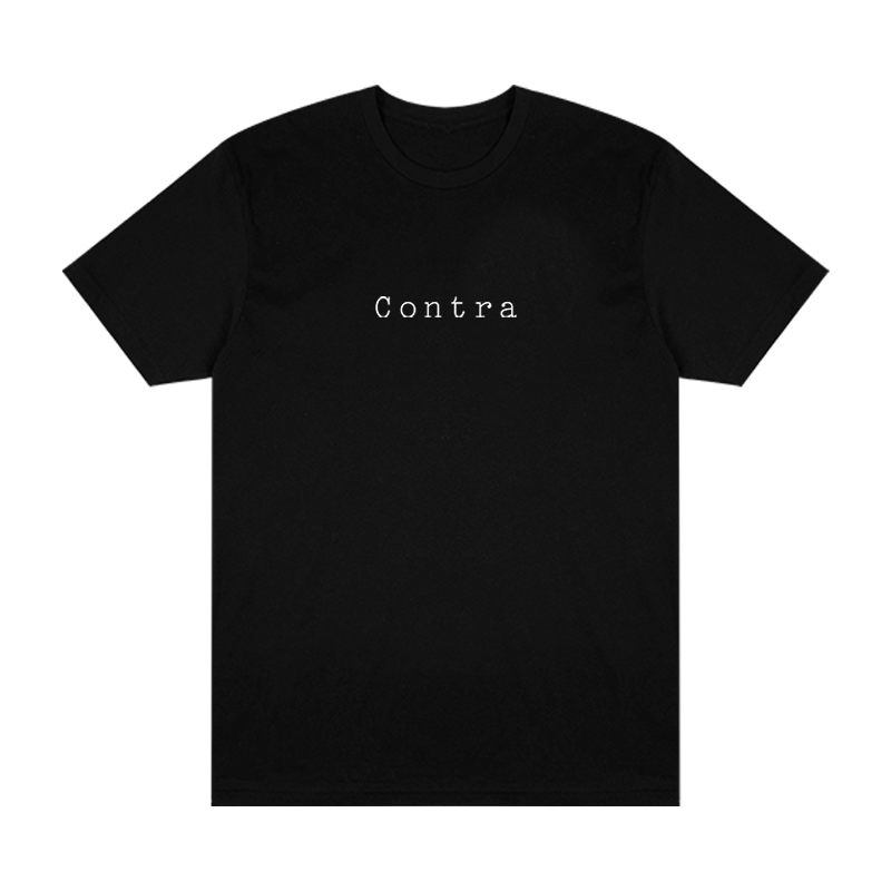 Contra Cafe Logo Tee - Black - Shop Off Menu