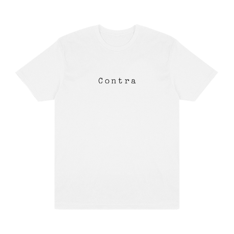Contra Cafe Logo Tee - White - Shop Off Menu