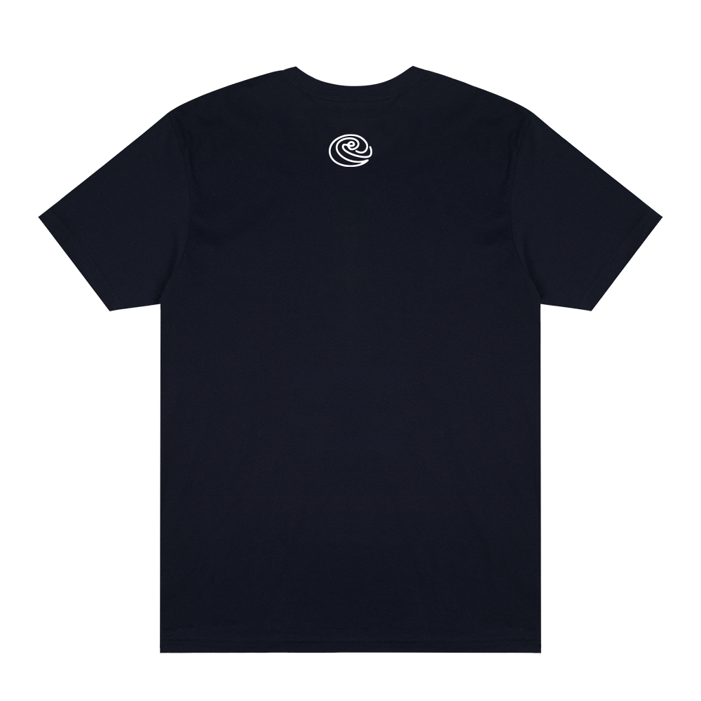 Daily Provisions Logo Tee - Navy - Shop Off Menu