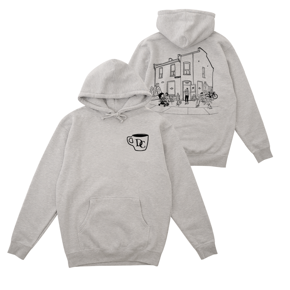 Durand Coffee Hoodie - Heather Grey - Shop Off Menu