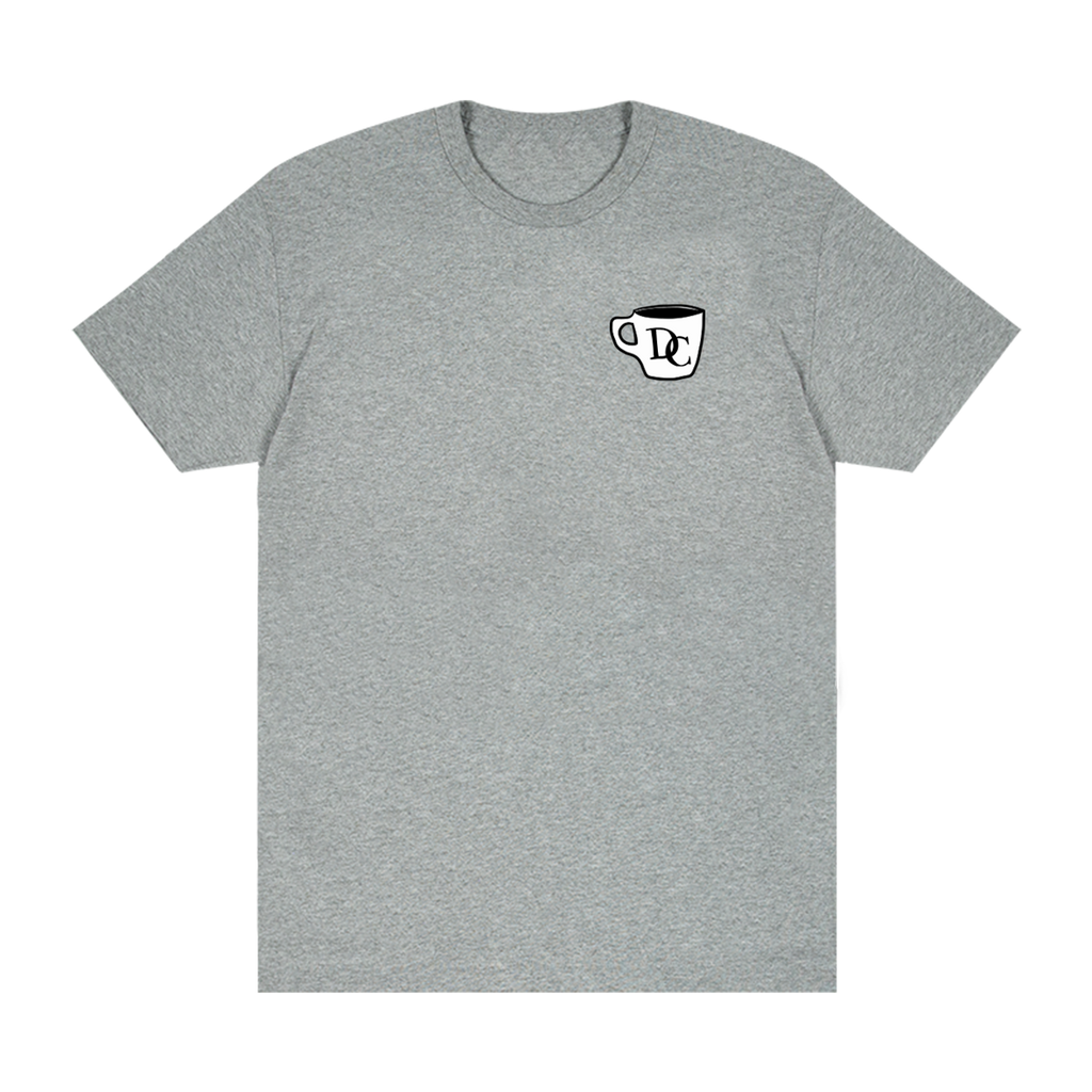 Durand Coffee Logo Tee - Grey - Shop Off Menu