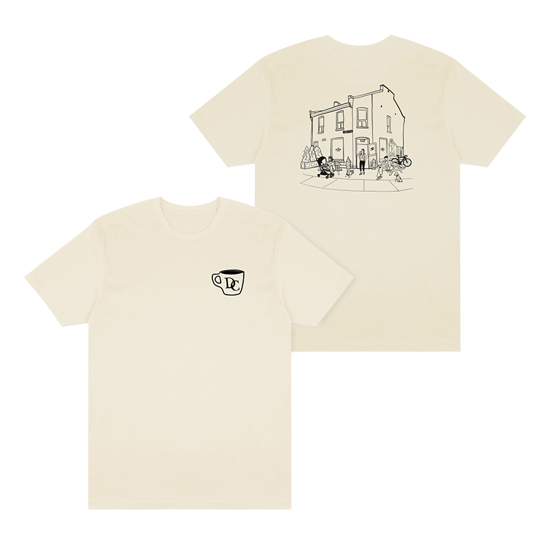 Durand Coffee Logo Tee - Natural - Shop Off Menu