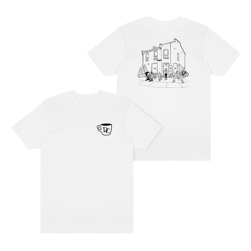 Durand Coffee Logo Tee - White - Shop Off Menu