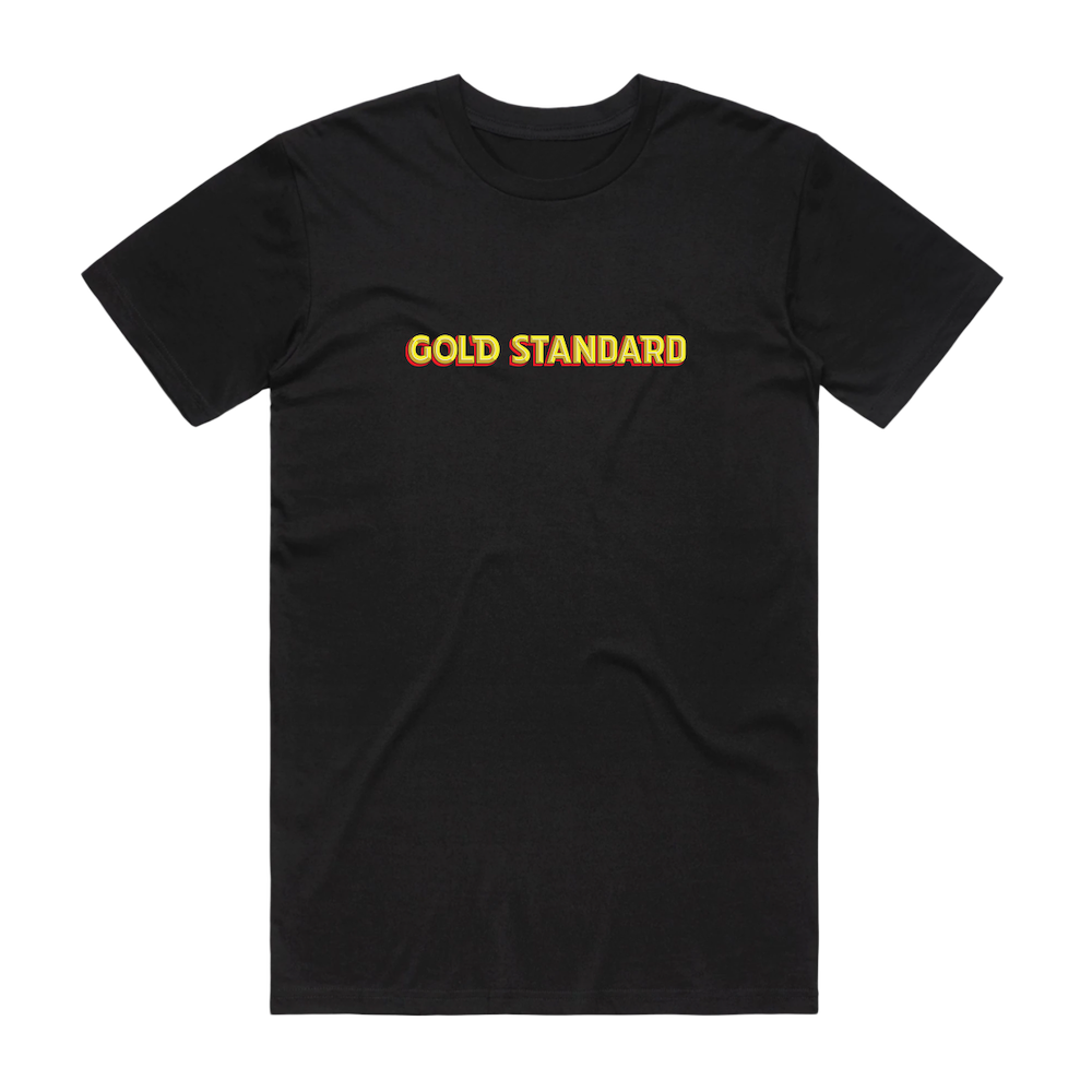 Gold Standard Logo Tee - Black - Shop Off Menu