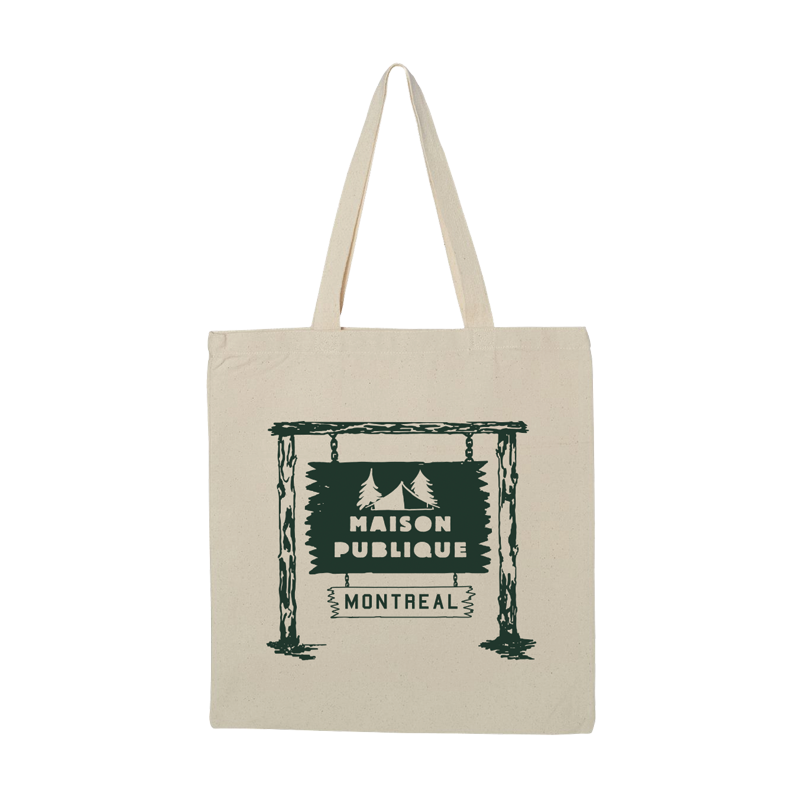 Maison Publique Cottage Tote Bag - Natural - Shop Off Menu