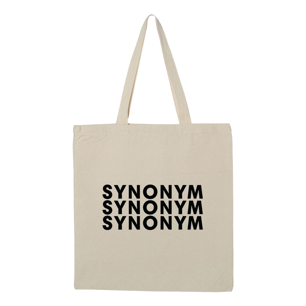 Synonym Repeat Logo Tote Bag - Natural - Shop Off Menu