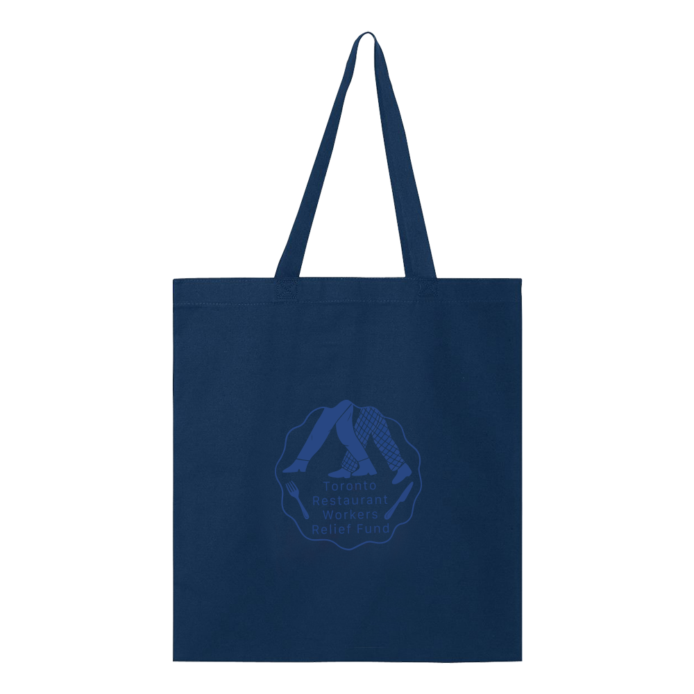 TRWRF Tote Bag - Navy - Shop Off Menu