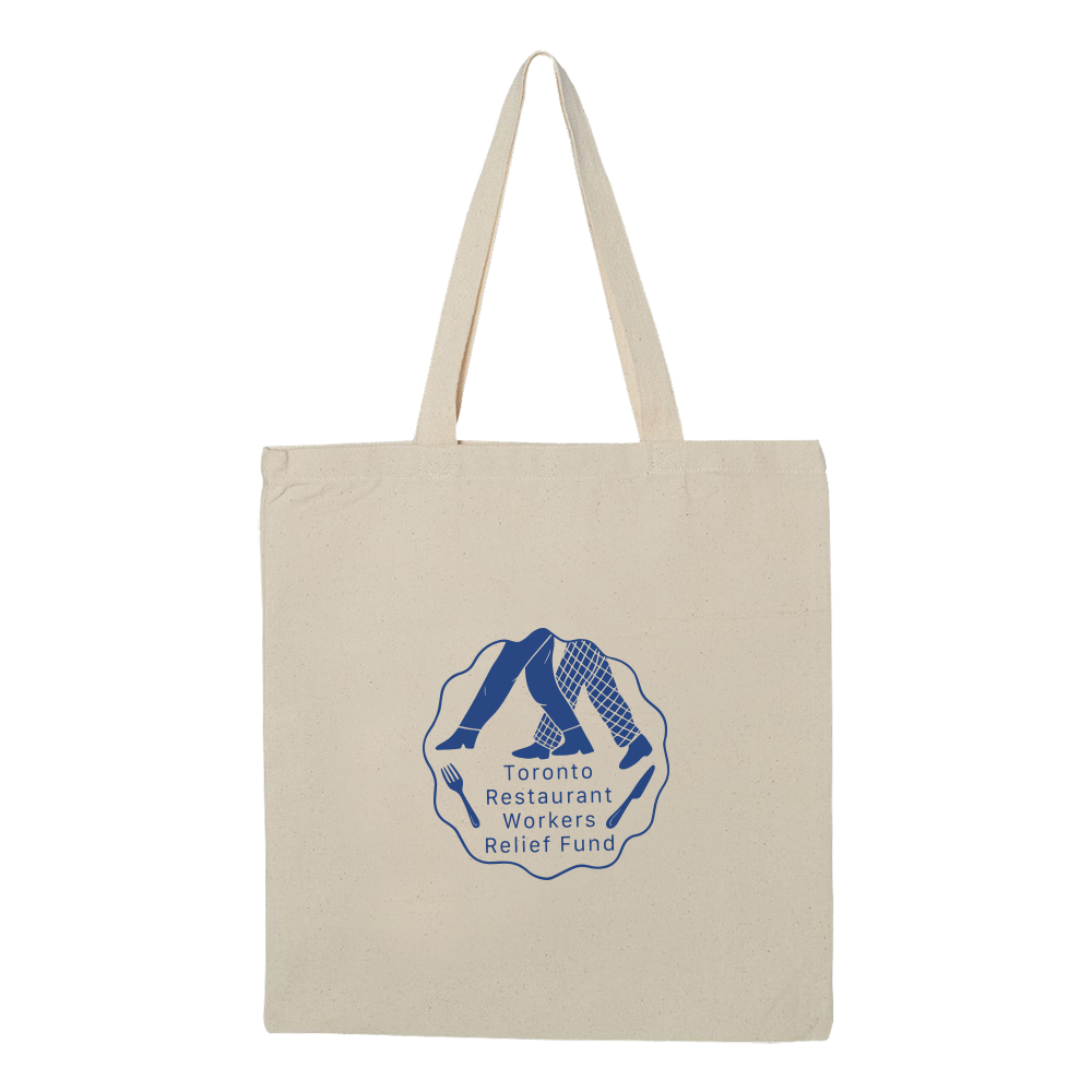 TRWRF Tote Bag - Natural - Shop Off Menu