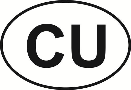 Colorado University decal from Oval Envy.  Great price for a durable vinyl decal.  We've got animals, beaches, dogs, cats and more!  Search our catalog for your next Euro Oval Decal.
