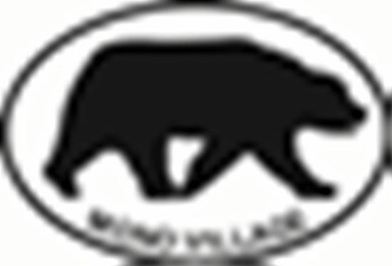 Mono Village Bear decal from Oval Envy.  Great price for a durable vinyl decal.  We've got animals, beaches, dogs, cats and more!  Search our catalog for your next Euro Oval Decal.