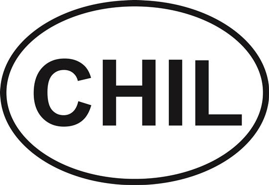 Chilmark decal from Oval Envy.  Great price for a durable vinyl decal.  We've got animals, beaches, dogs, cats and more!  Search our catalog for your next Euro Oval Decal.