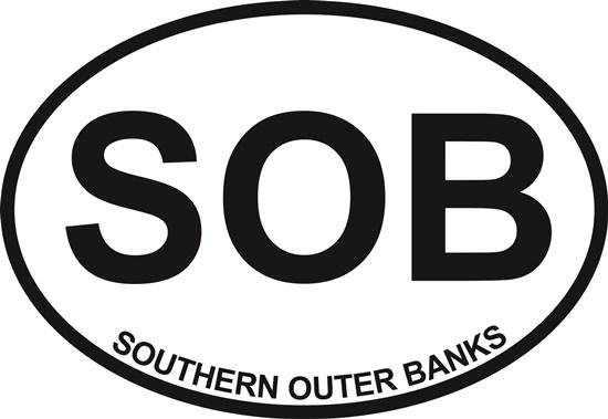 Southern Outer Banks decal from Oval Envy.  Great price for a durable vinyl decal.  We've got animals, beaches, dogs, cats and more!  Search our catalog for your next Euro Oval Decal.