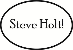Steve Holt decal from Oval Envy.  Great price for a durable vinyl decal.  We've got animals, beaches, dogs, cats and more!  Search our catalog for your next Euro Oval Decal.