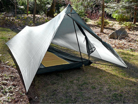 best lightweight backpacking tents - tarptent : walking pole tent - memphite.com