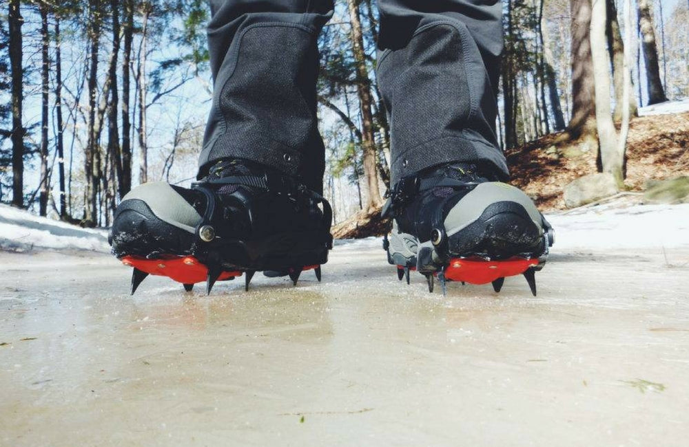 crampons and microspikes