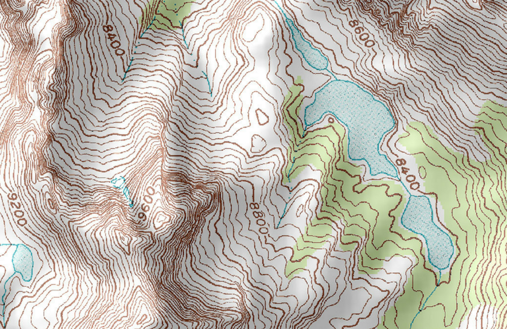 How To Read Topographic Map.What Are Contour Lines How To Read A Topographical Map 101