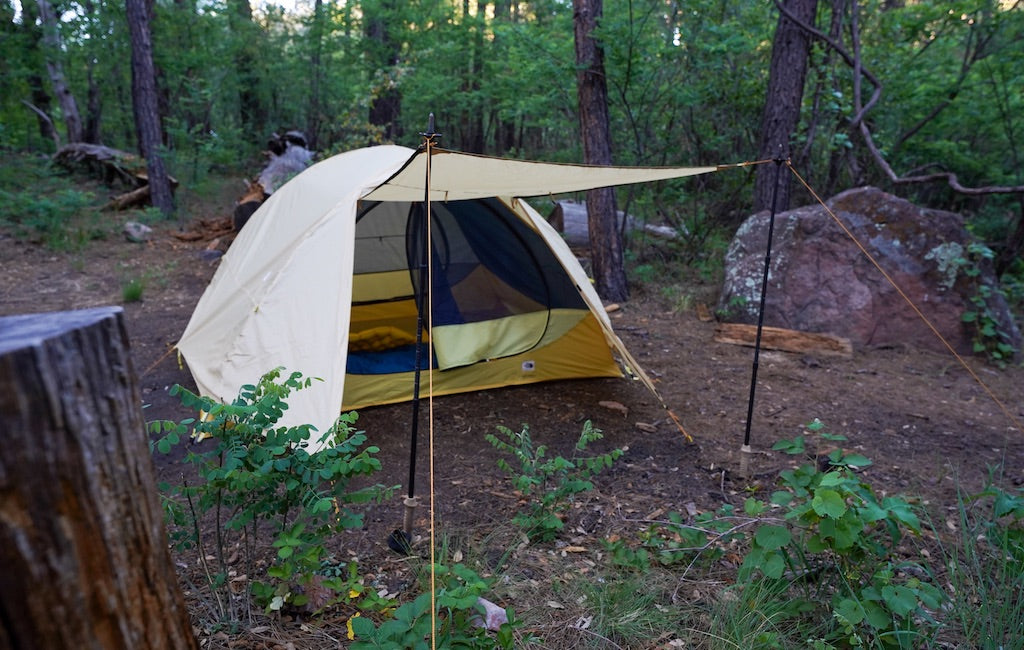 3-person tent vestibule seen from the front