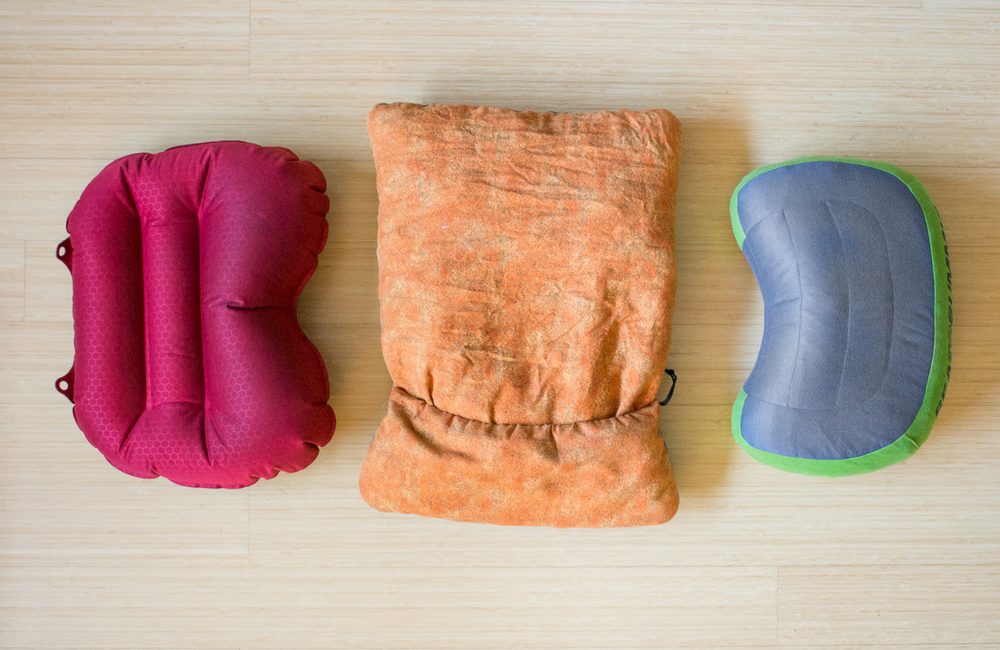 best ultralight backpacking pillows for hiking