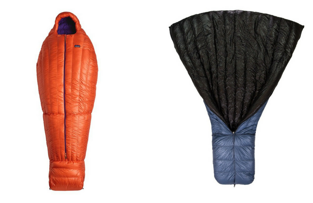mummy vs quilt ultralight backpacking sleeping bags