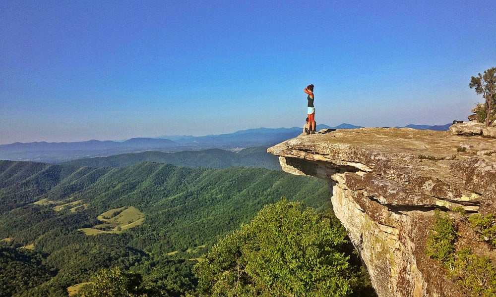 mcafee's knob virginia - best appalachian trail section hikes
