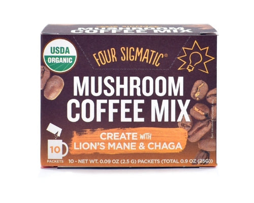 four sigmatic instant coffee mushroom