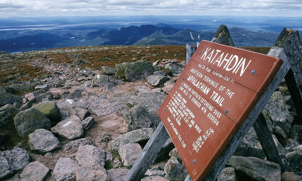 mt. katahdin maine best appalachian trail section hikes