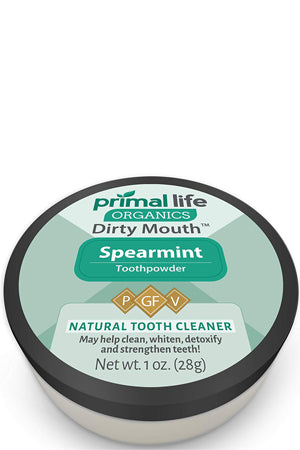 Dirty Mouth Organic Toothpowder - best tooth powder, tooth powder vs toothpaste, does tooth powder really work