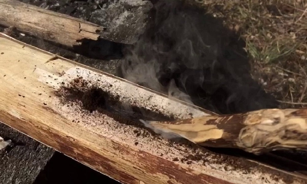 How to Make Fire with Fire Plow